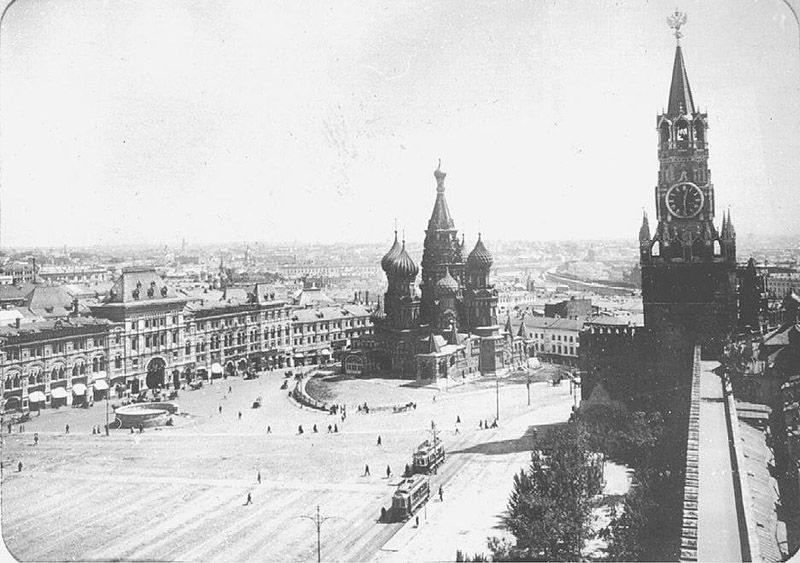 Old Moscow: The Red Square
