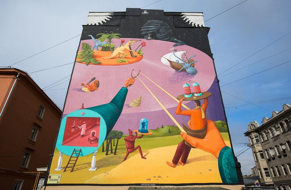 Creative Russian street-art: Huge Moscow graffiti - 08