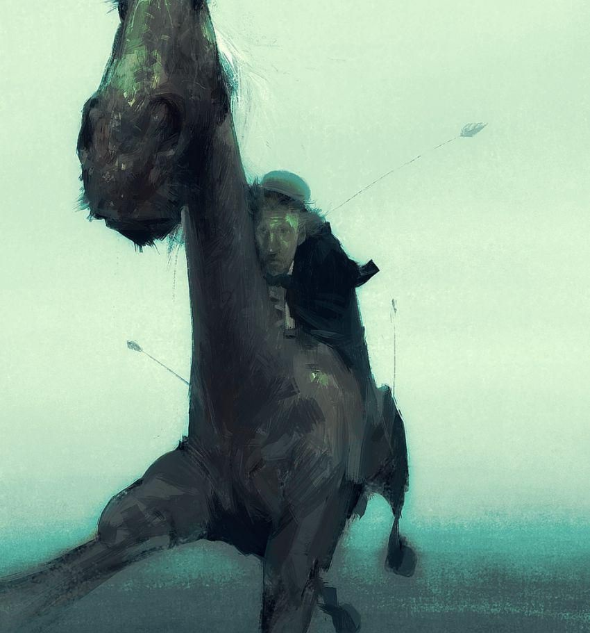 Sergey Kolesov Drawing - 10