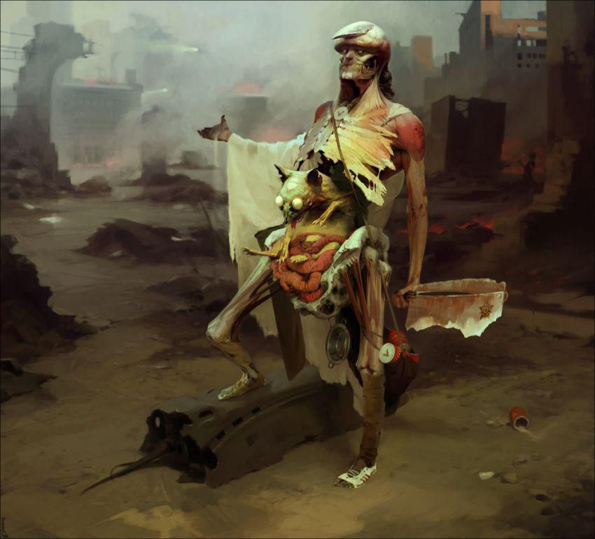 Sergey Kolesov Drawing - 18