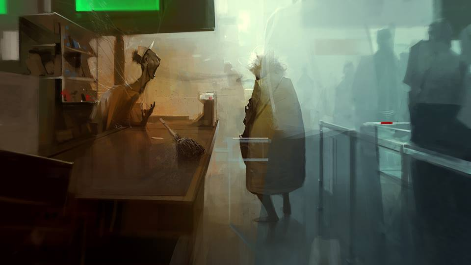 Sergey Kolesov Drawing - 30