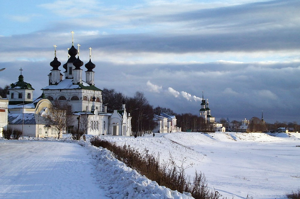 Veliky Ustyug: A northern city with old beautiful monasteries - 06