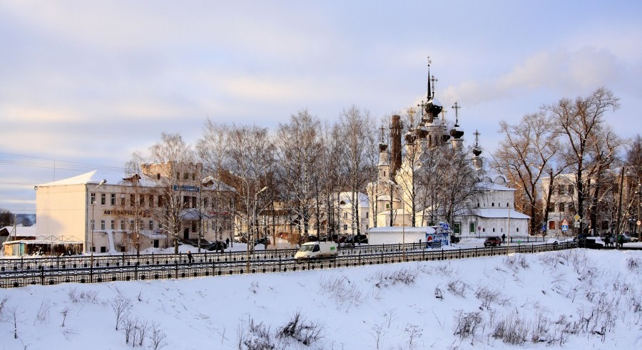 Veliky Ustyug: A northern city with old beautiful monasteries - 10