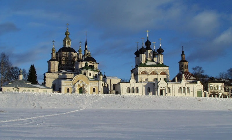 Veliky Ustyug: A northern city with old beautiful monasteries - 11