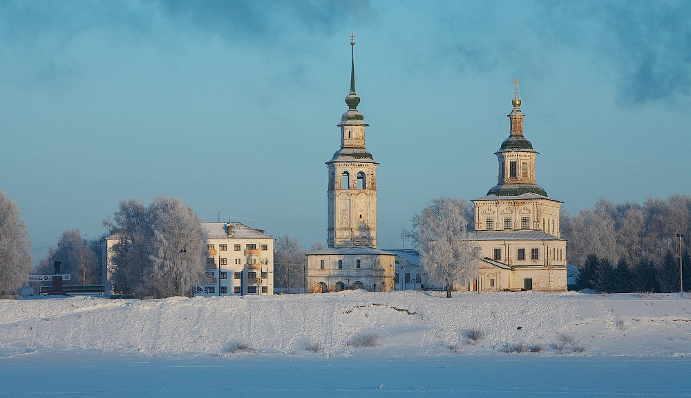 Veliky Ustyug: A northern city with old beautiful monasteries - 12