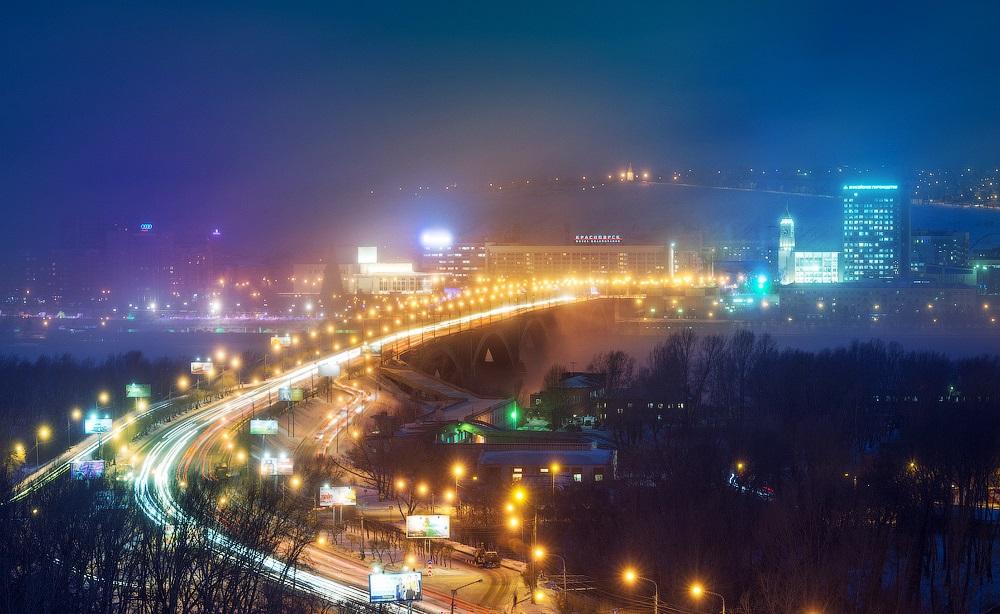 Nice winter photos of Krasnoyarsk - 18
