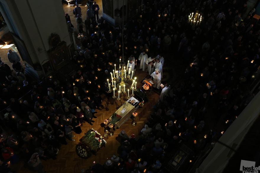 Balabanov's funeral