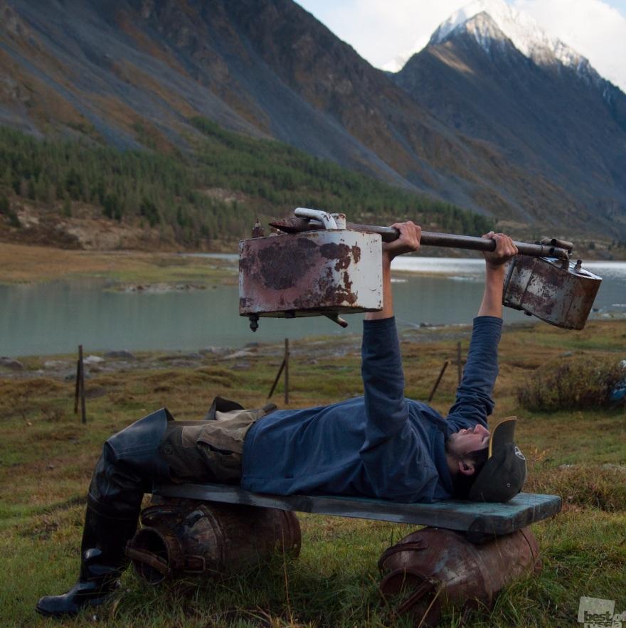 Harsh Siberian sport