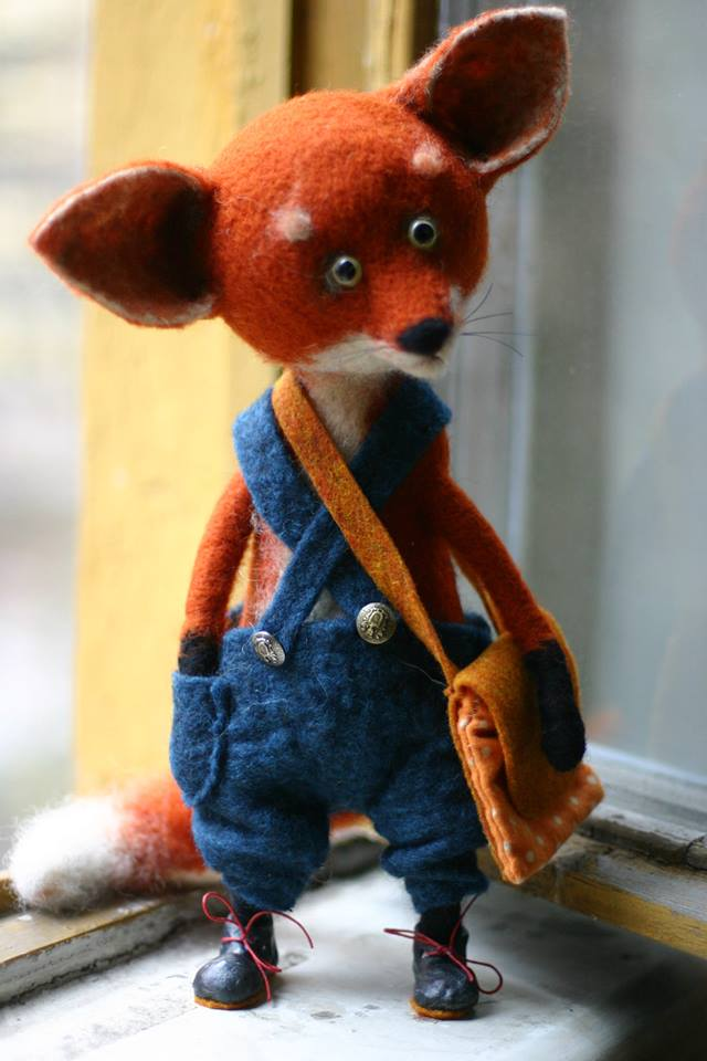 The cutest felt kids toys ever by Katerina Kozubenko - 14