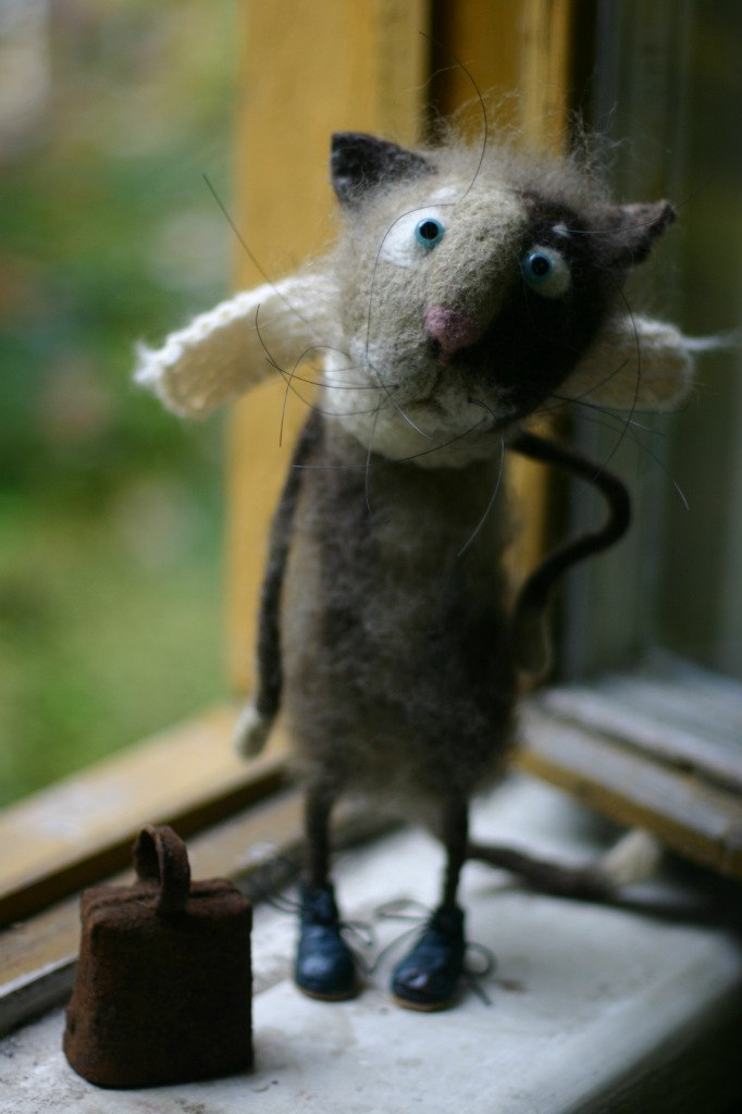 The cutest felt kids toys ever by Katerina Kozubenko - 18