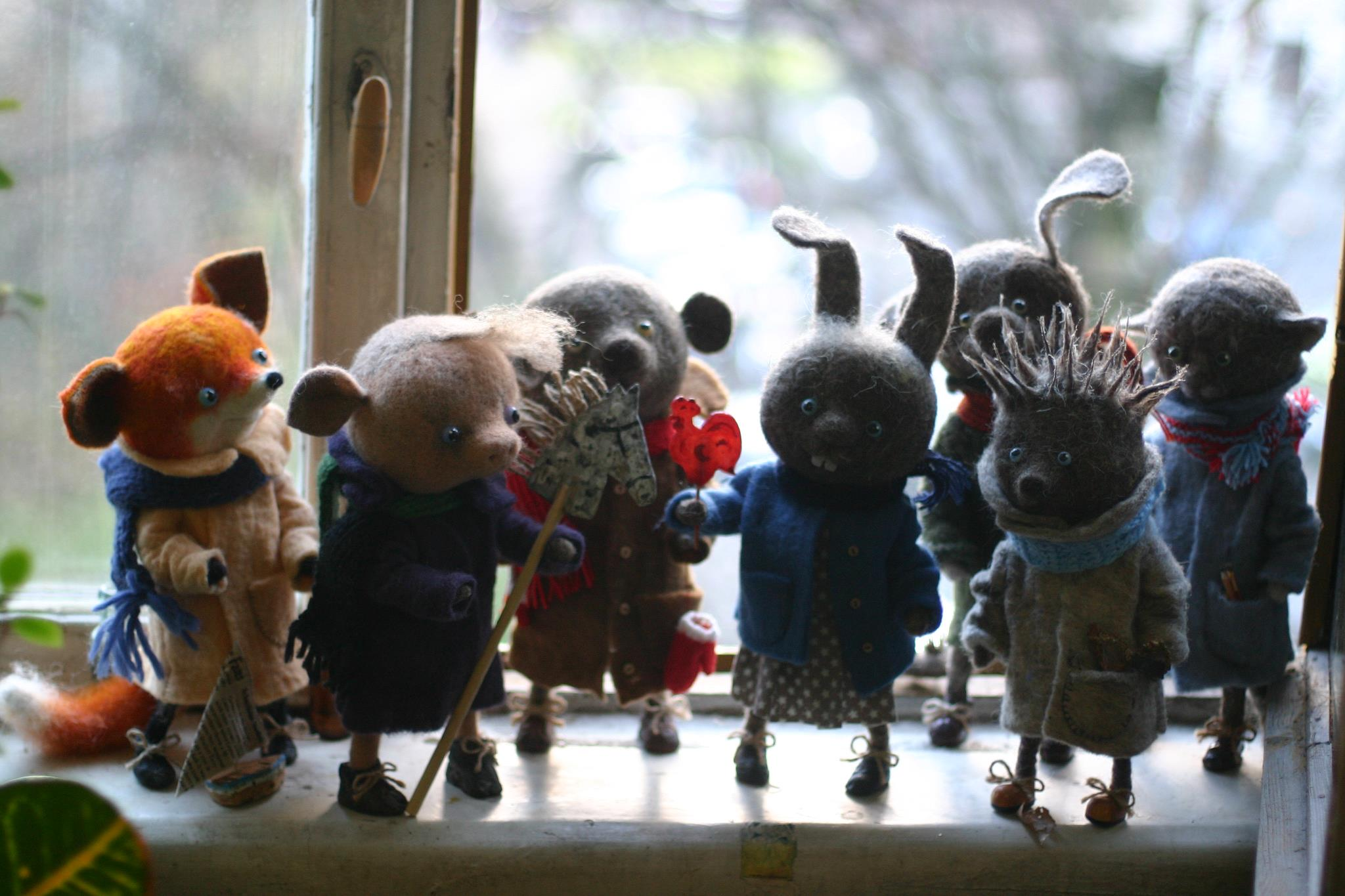 The cutest felt kids toys ever by Katerina Kozubenko - 31