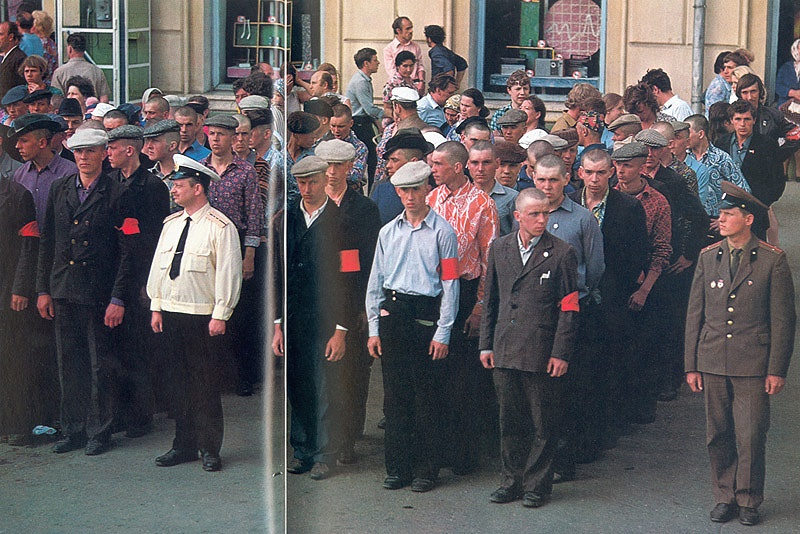 The USSR through the eyes of foreigners: Photos Part 2 - 101