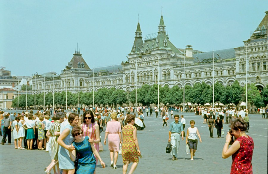 The USSR through the eyes of foreigners: Photos Part 2 - 91