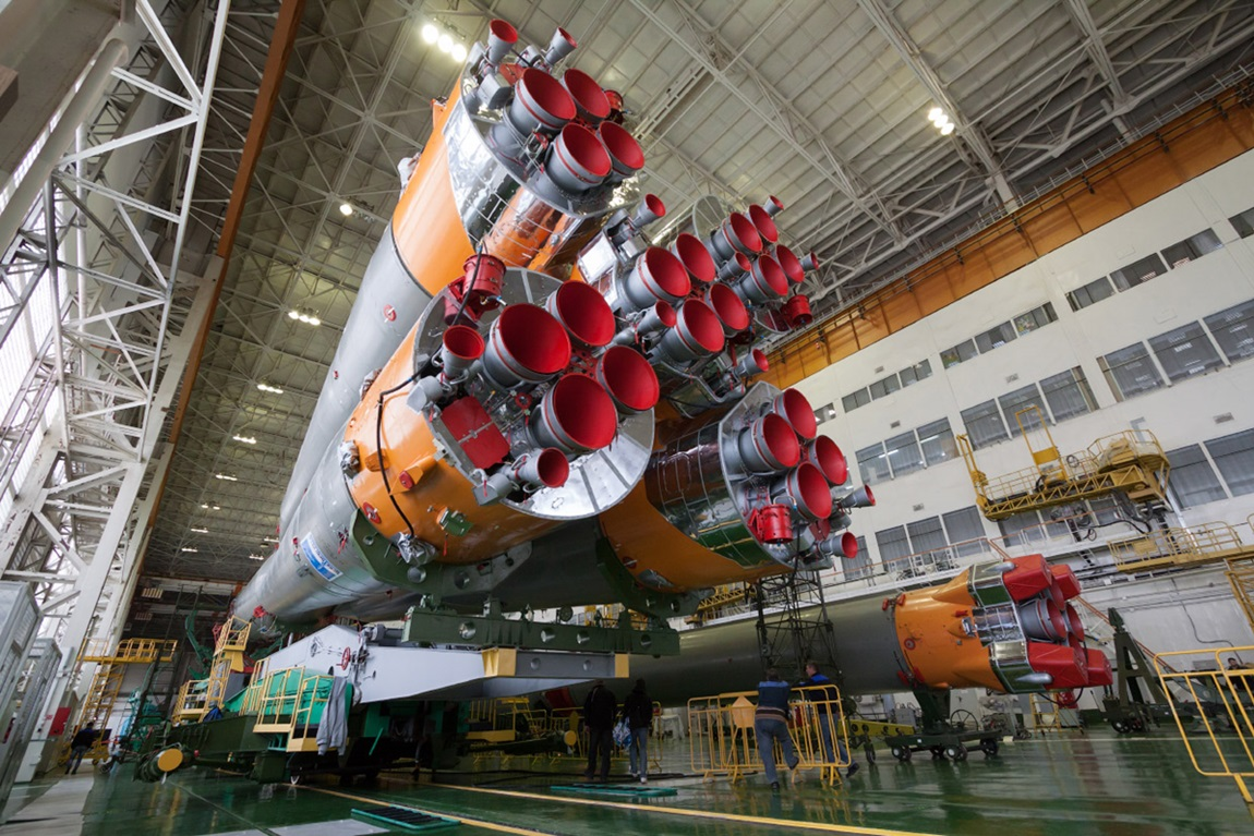 Space expedition 39: The launch of Russian rocket Soyuz TMA12M - 02