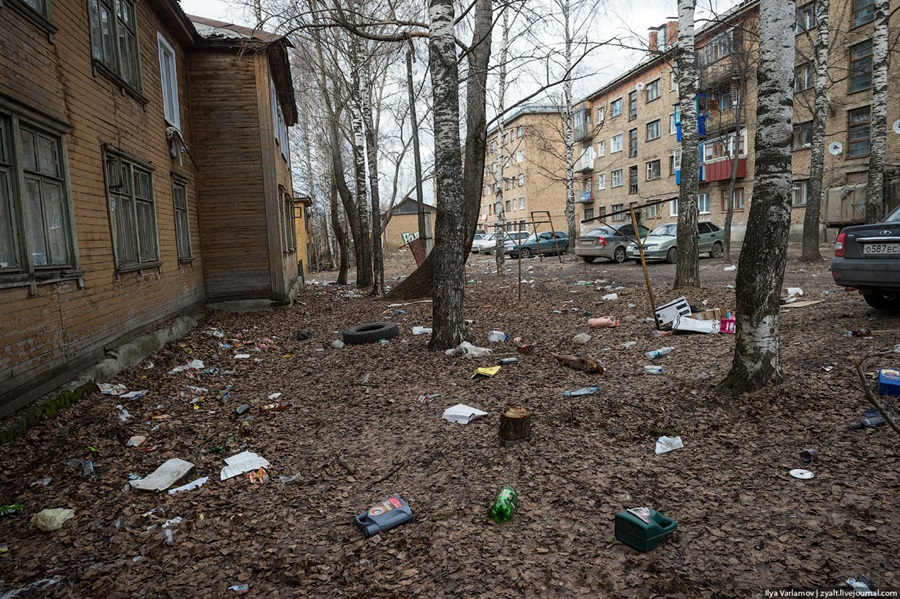 Bad bad city of Syktyvkar: Another dirty northern place in Russia - 26