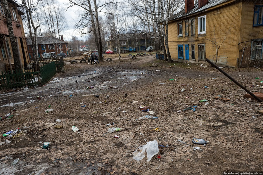 Bad bad city of Syktyvkar: Another dirty northern place in Russia - 27