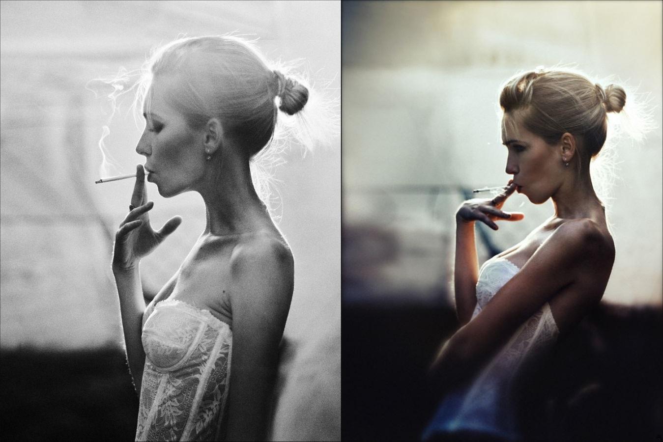 Black, grey, and white: Pensive photography art by Evgeniya Rudaya - 04