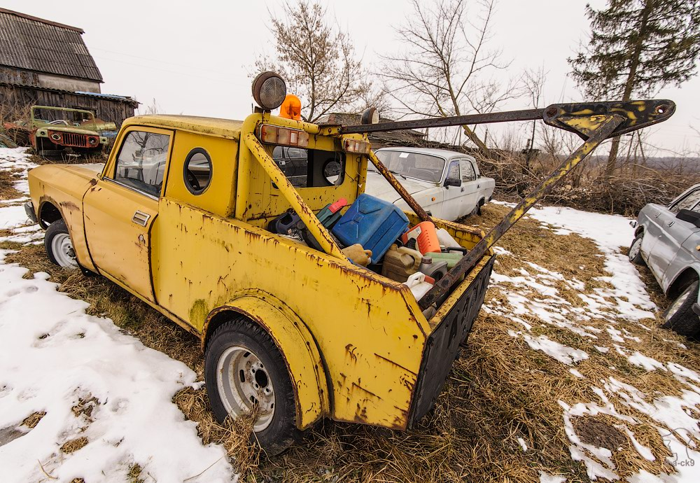 Cars cemetery: Dying unique old vehicles of Soviet Russia - 10