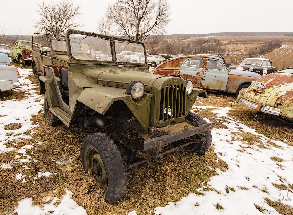 Cars cemetery: Dying unique old vehicles of Soviet Russia - 13