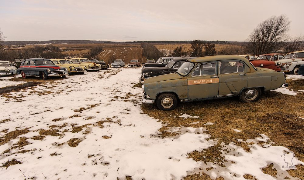 Cars cemetery: Dying unique old vehicles of Soviet Russia - 02