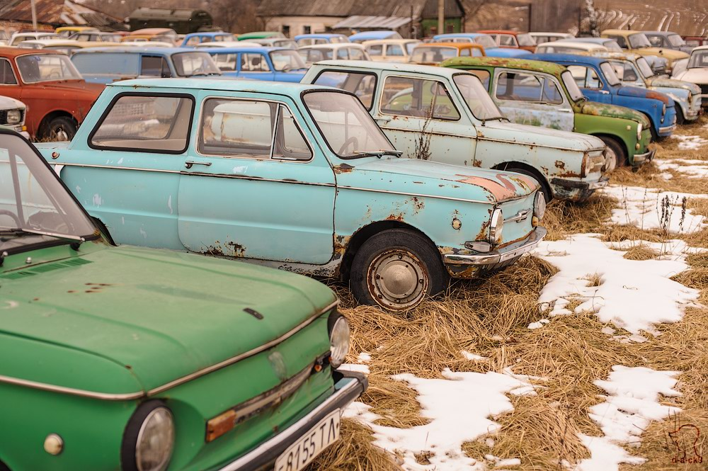 Cars cemetery: Dying unique old vehicles of Soviet Russia - 20