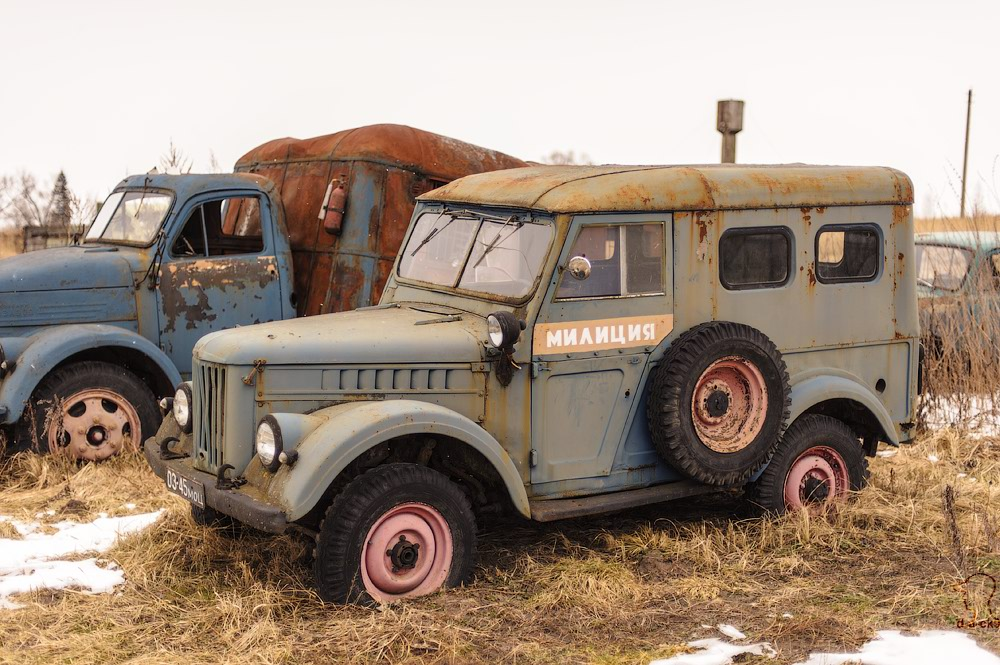 Cars cemetery: Dying unique old vehicles of Soviet Russia - 21