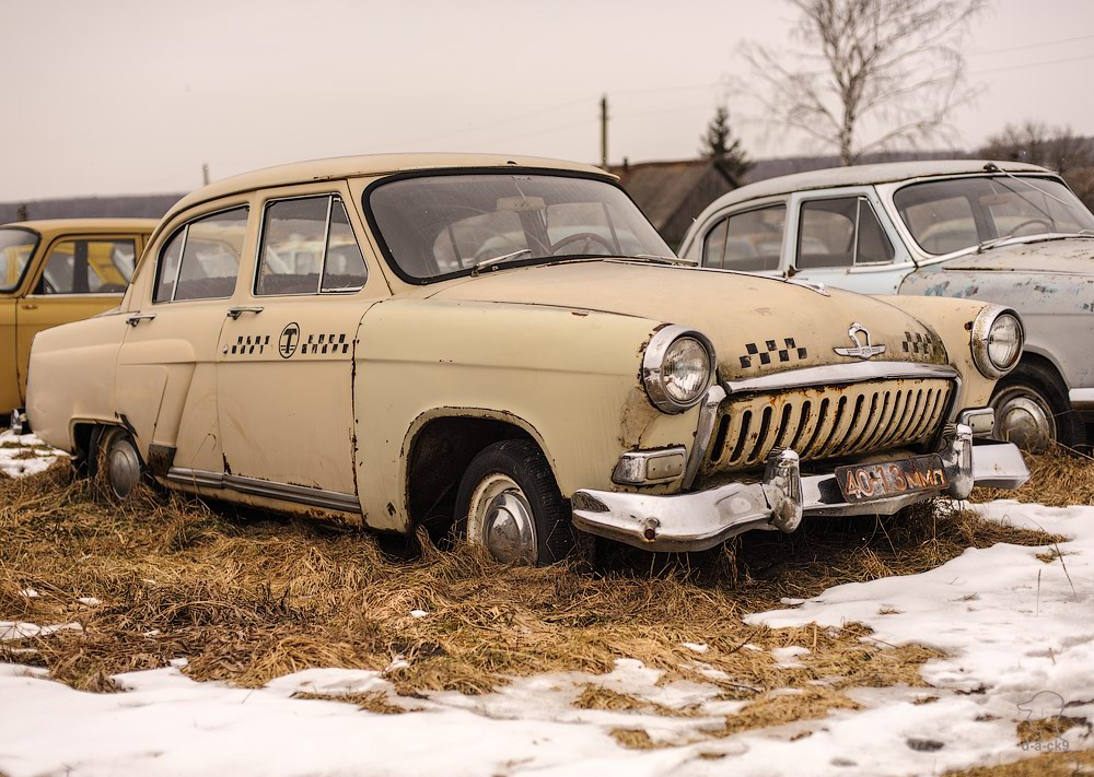 Cars cemetery: Dying unique old vehicles of Soviet Russia - 24