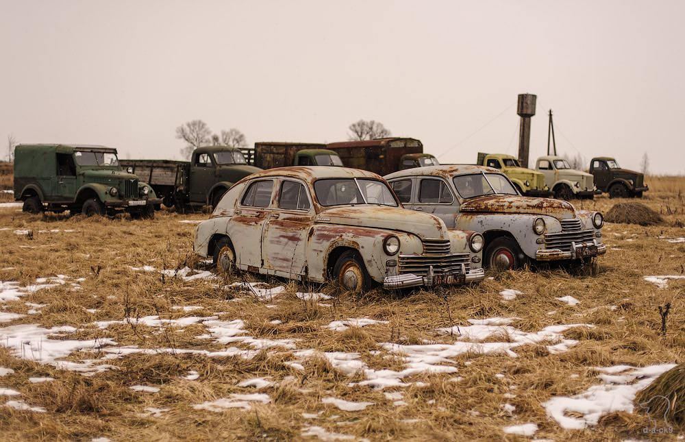 Cars cemetery: Dying unique old vehicles of Soviet Russia - 27