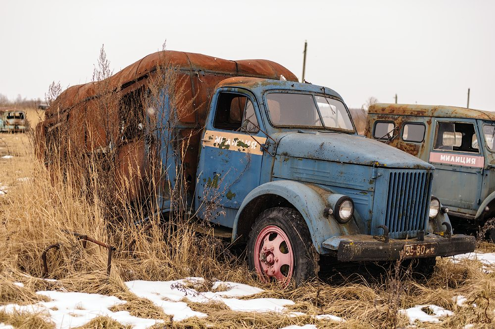 Cars cemetery: Dying unique old vehicles of Soviet Russia - 28