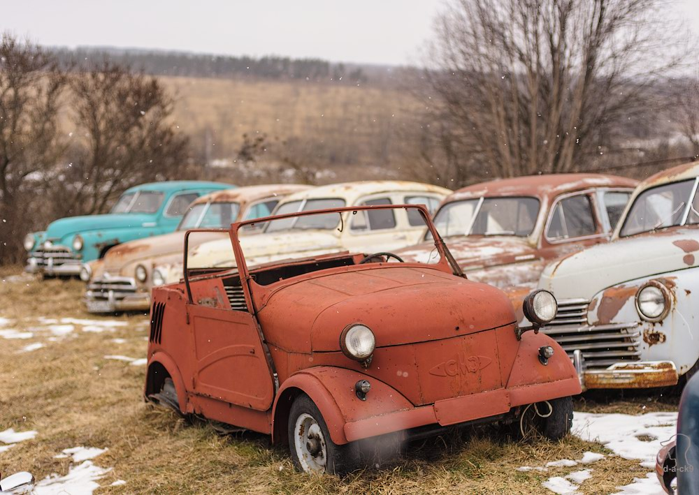 Cars cemetery: Dying unique old vehicles of Soviet Russia - 29
