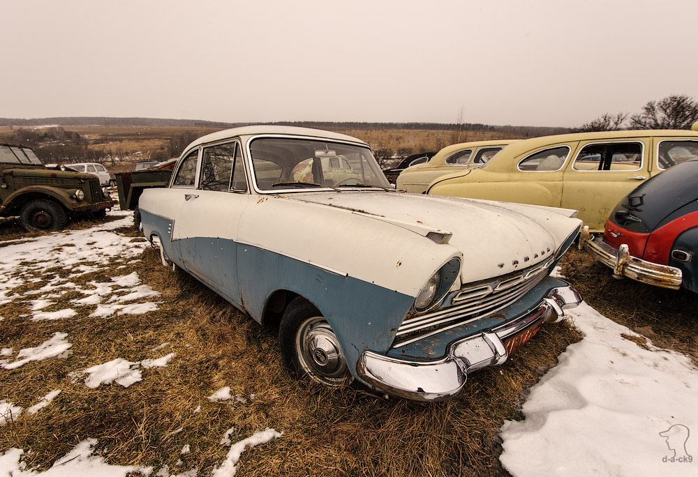 Cars cemetery: Dying unique old vehicles of Soviet Russia - 32
