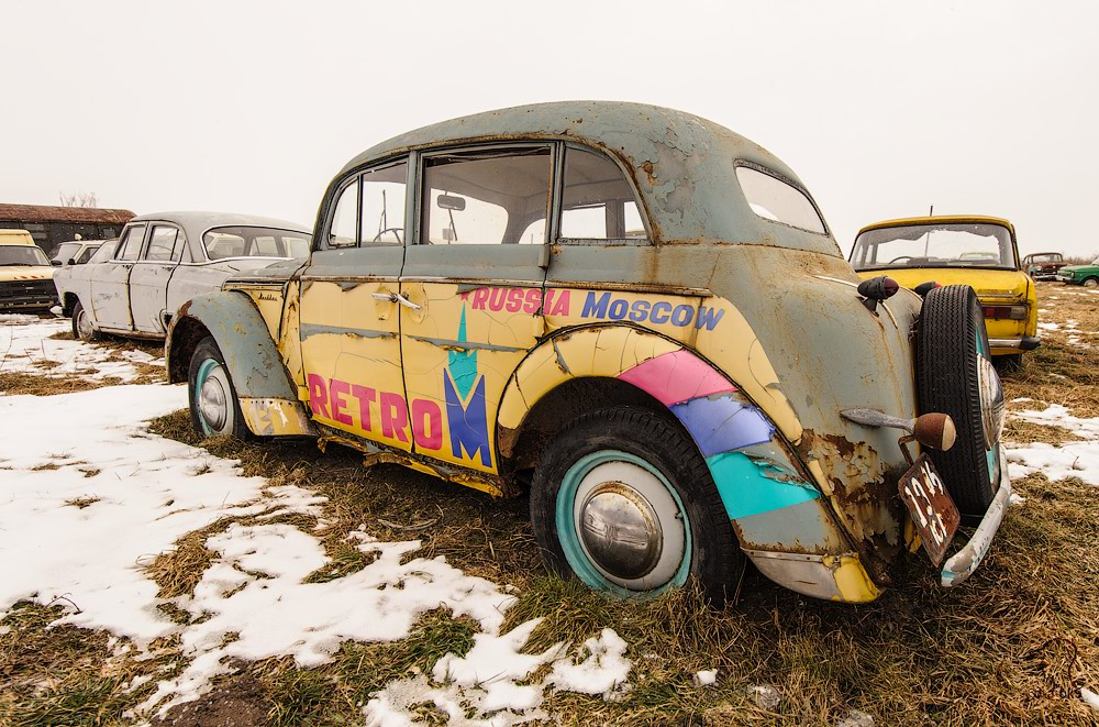 Cars cemetery: Dying unique old vehicles of Soviet Russia - 36