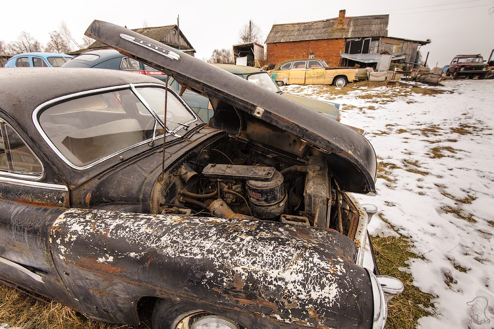 Cars cemetery: Dying unique old vehicles of Soviet Russia - 04