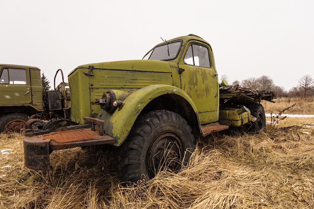 Cars cemetery: Dying unique old vehicles of Soviet Russia - 40