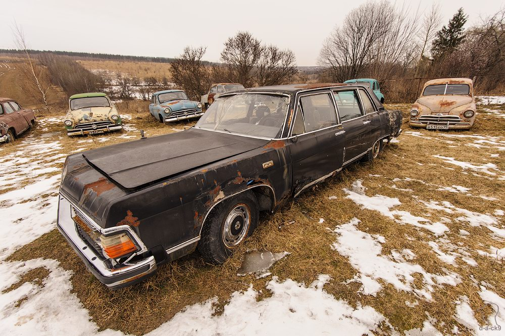 Cars cemetery: Dying unique old vehicles of Soviet Russia - 05