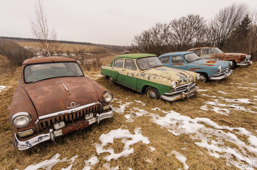 Cars cemetery: Dying unique old vehicles of Soviet Russia - 06
