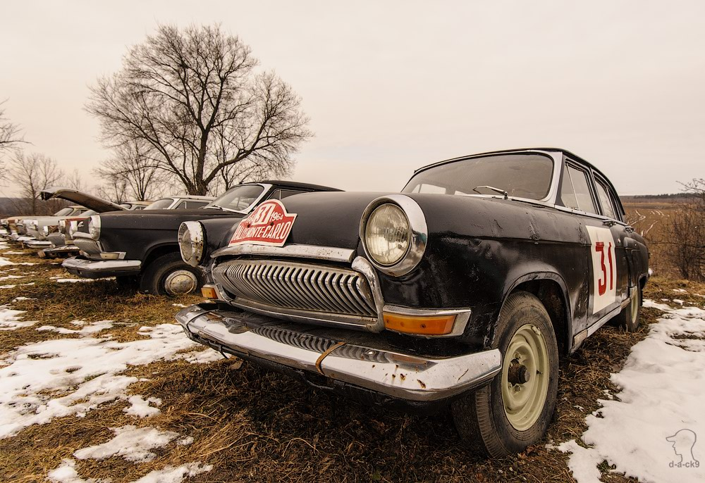 Cars cemetery: Dying unique old vehicles of Soviet Russia - 07