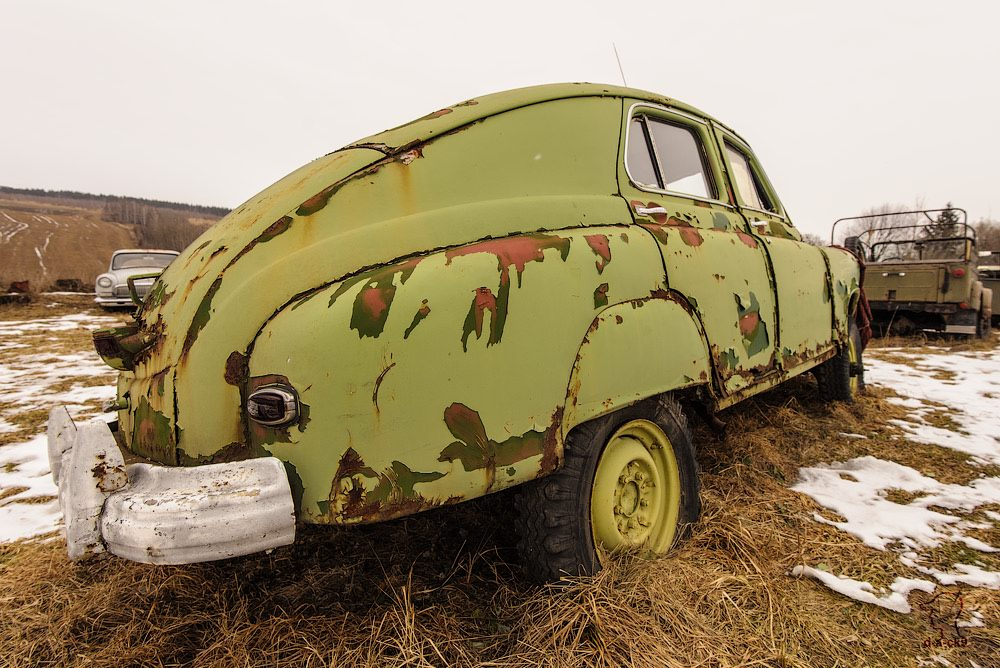 Cars cemetery: Dying unique old vehicles of Soviet Russia - 08