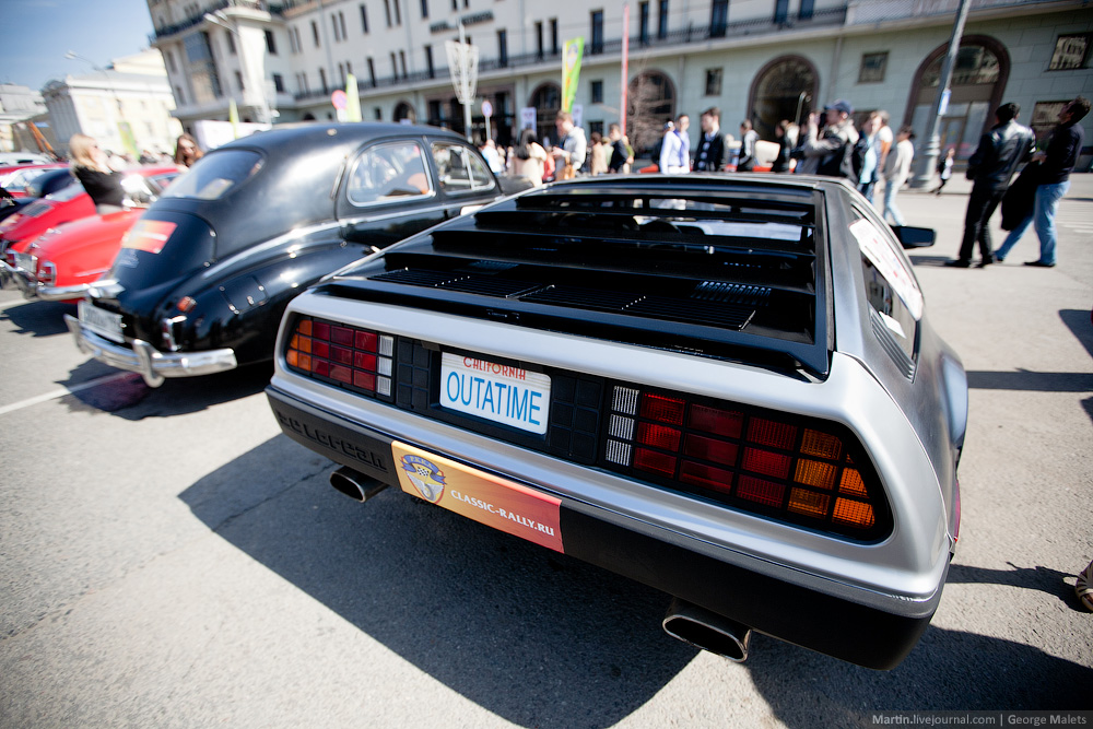 DeLorean and 49 other unique old cars on the Retro Rally in Moscow - 11