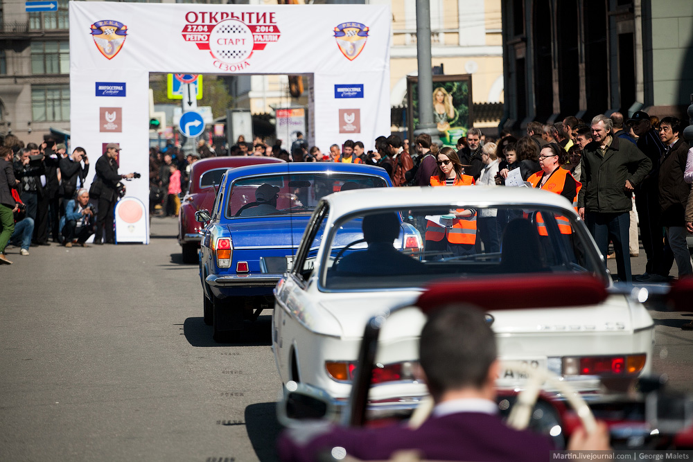 DeLorean and 49 other unique old cars on the Retro Rally in Moscow - 22