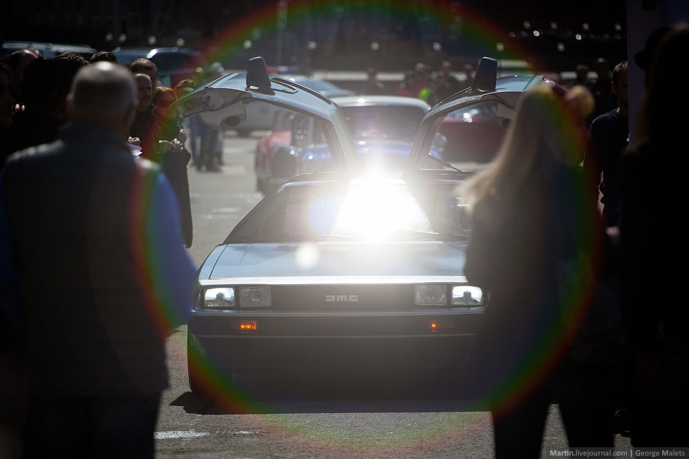 DeLorean and 49 other unique old cars on the Retro Rally in Moscow - 28