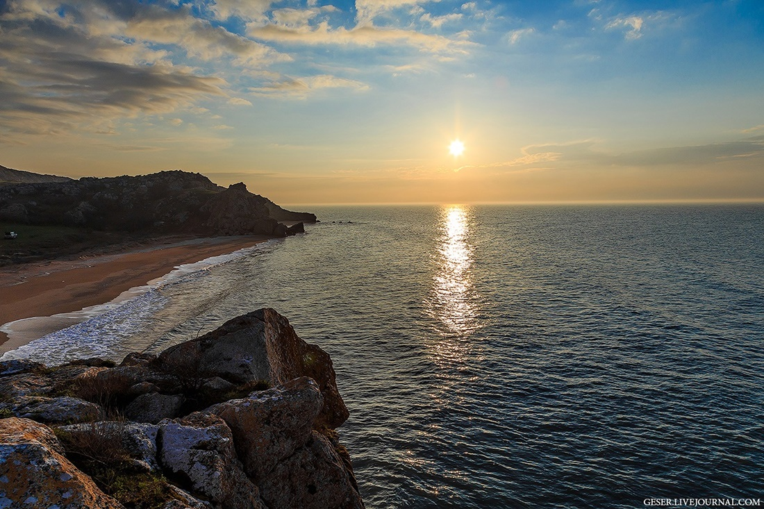 Generals beaches: Wonderful wild beaches and bays of Crimea - 05