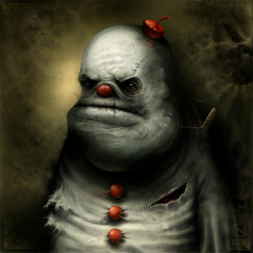Gloom: Scary paintings by a Russian artist Anton Semenov - 01
