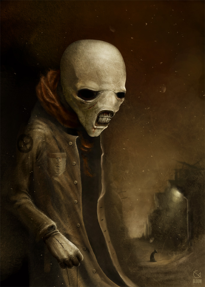 Gloom: Scary paintings by a Russian artist Anton Semenov - 16