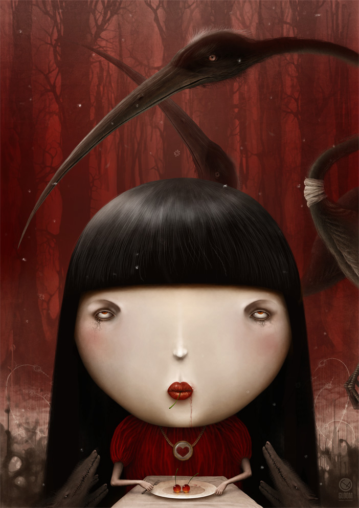 Gloom: Scary paintings by a Russian artist Anton Semenov - 18