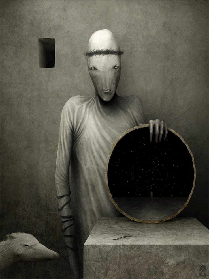 Gloom: Scary paintings by a Russian artist Anton Semenov - 25