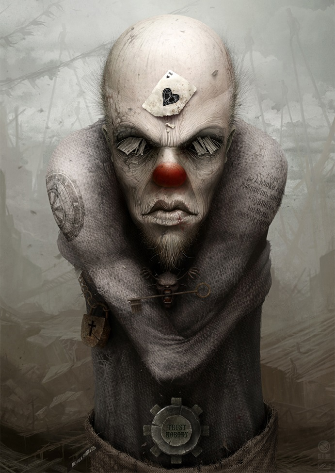 Gloom: Scary paintings by a Russian artist Anton Semenov - 26