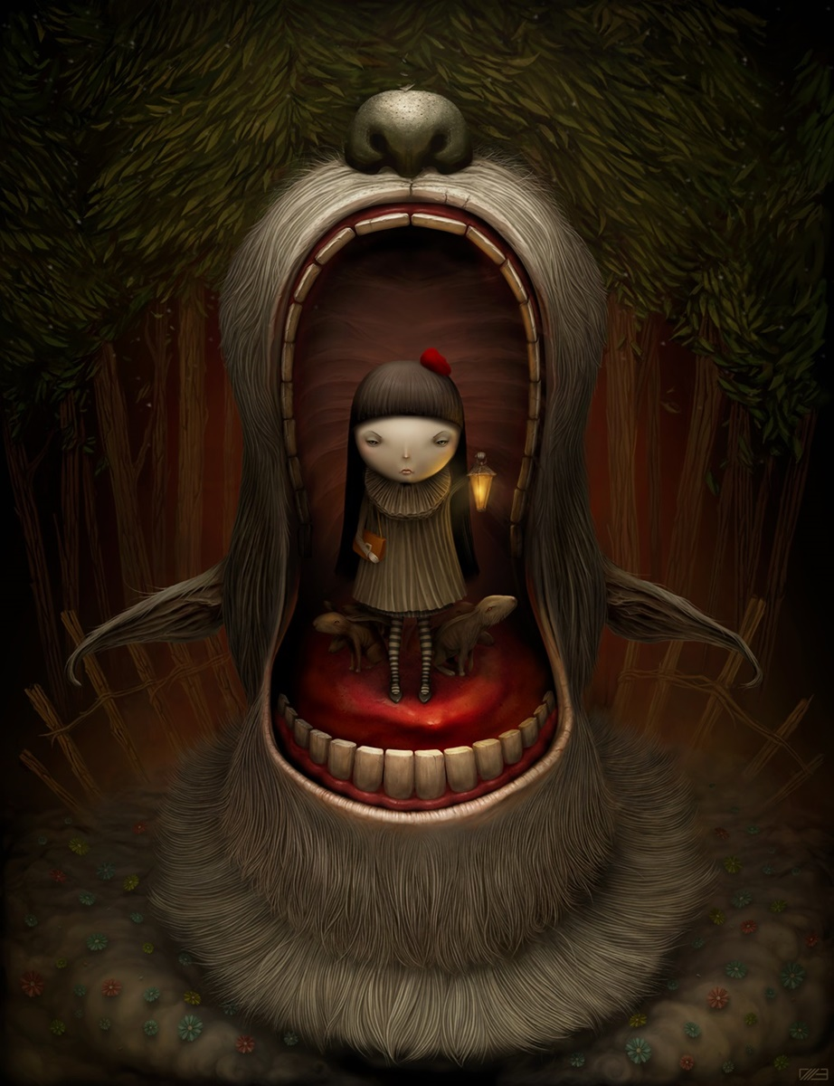 Gloom: Scary paintings by a Russian artist Anton Semenov - 39
