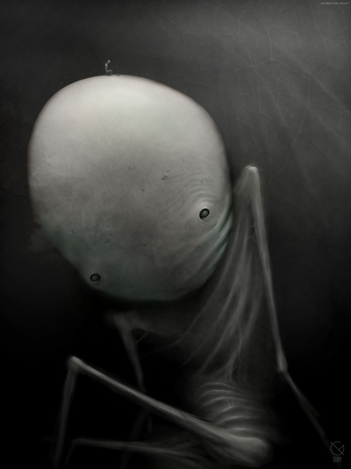 Gloom: Scary paintings by a Russian artist Anton Semenov - 06