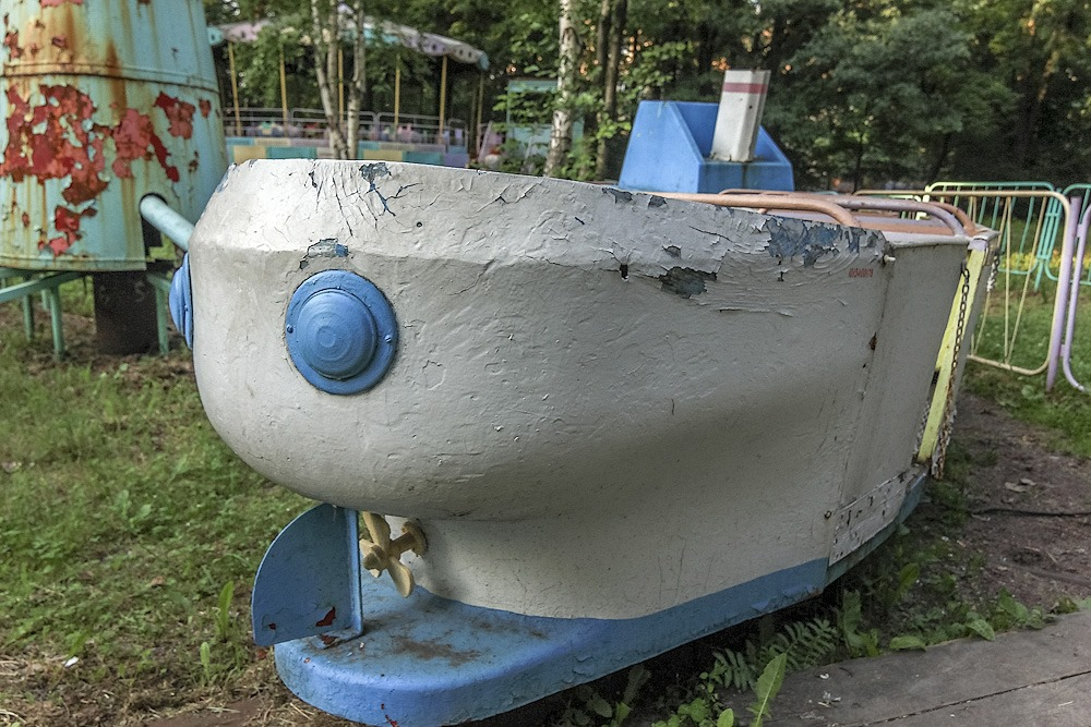 Lost childhood: Abandoned amusement park in Saint Petersburg - 10